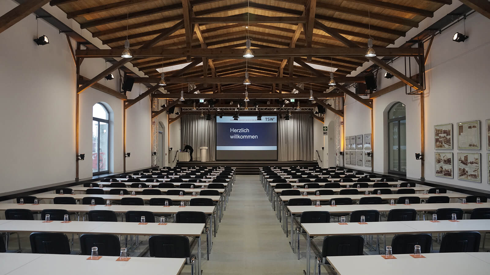 Güterboden Eventlocation in Radebeul bei Dresden – Präsentationtsevent