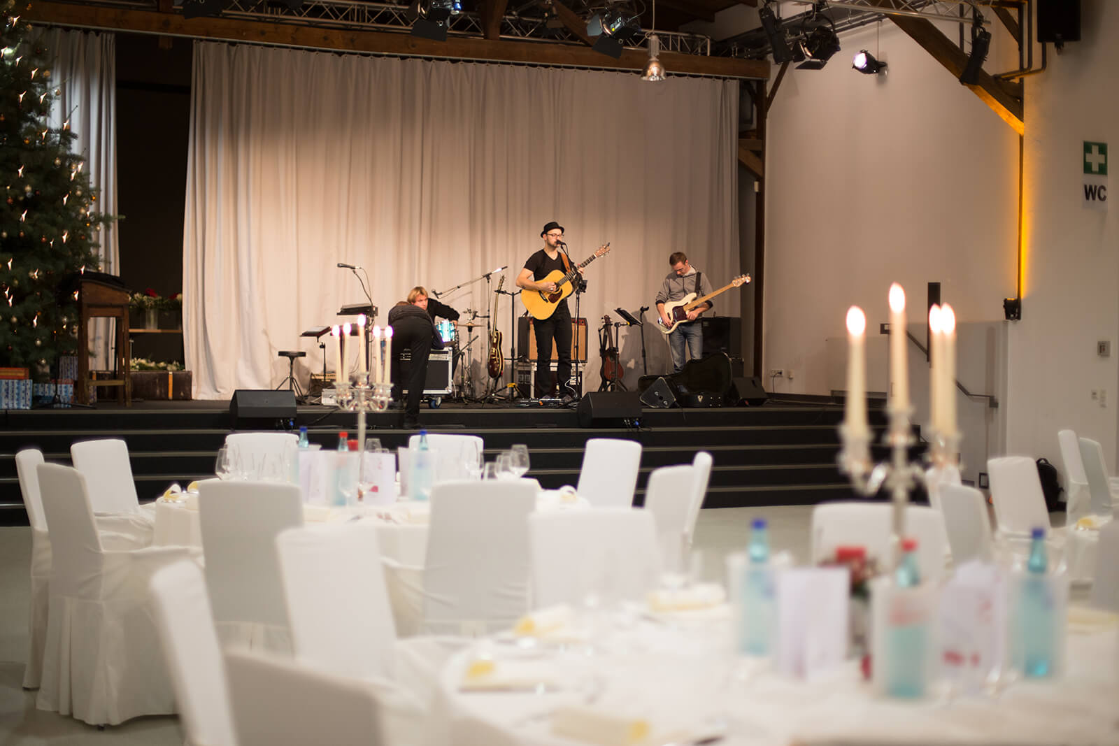 Güterboden Eventlocation in Radebeul bei Dresden – Event mit Livemusik